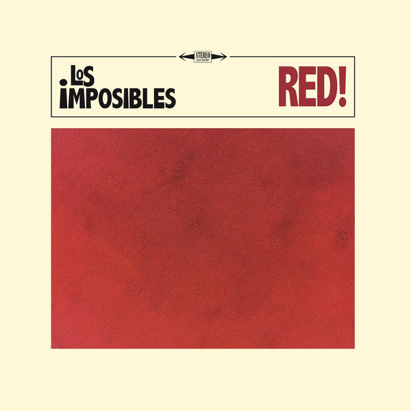 Los Impossibles- Red LP ~FUZZTONES!