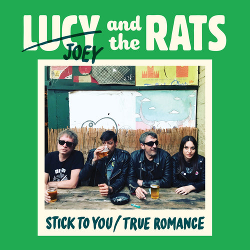 "Lucy And The Rats- Stick To You 7"" ~RARE BLUE / GREEN WAX LIMITED TO 100!"