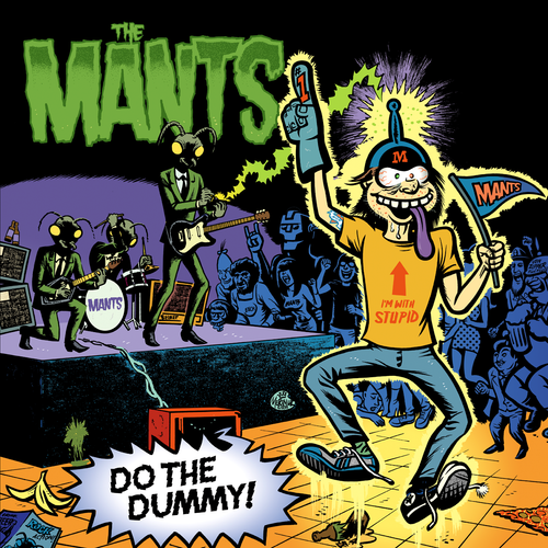 The Mants- Do The Dummy LP ~THE RIP OFFS!