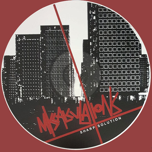 Miscalculations- Sharp Solution LP ~WHITE WAX + SILK SCREENED B-SIDE!
