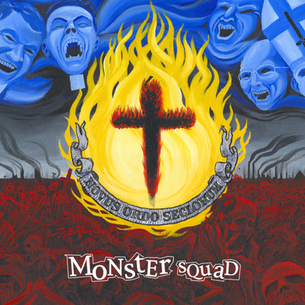 "Monster Squad- Fire The Faith LP ~REISSUE WITH HUGE POSTER + BONUS 7"" FLEXI!"