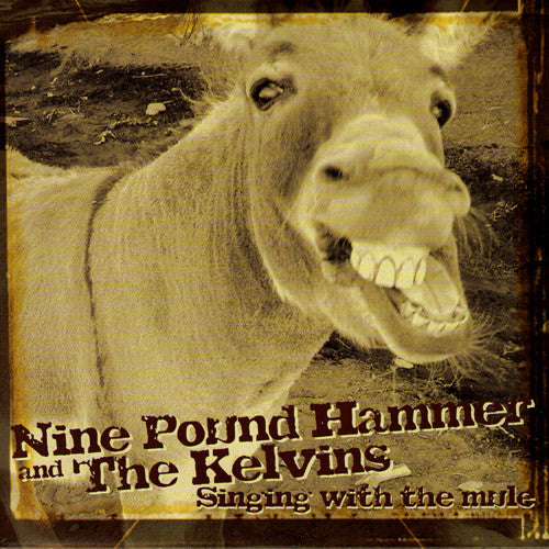 "NINE POUND HAMMER/THE KELVINS- Split 7"" ~VERY RARE 50 MADE! - Tornado Ride - Dead Beat Records"