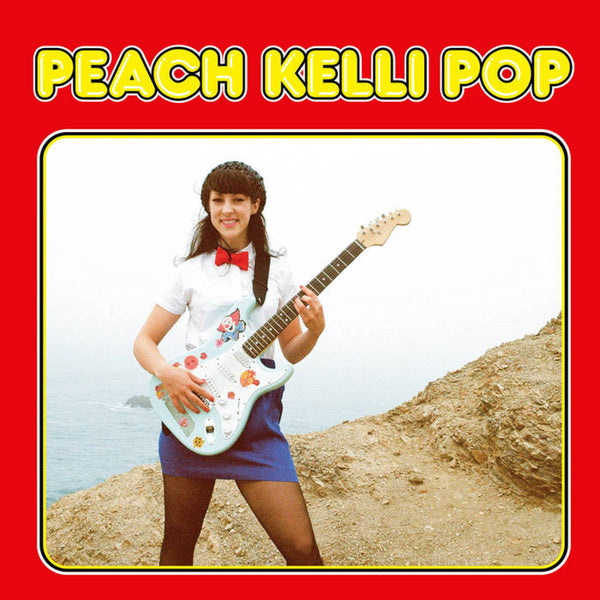Peach Kelli Pop- S/T LP ~NIKKI + THE CORVETTES!