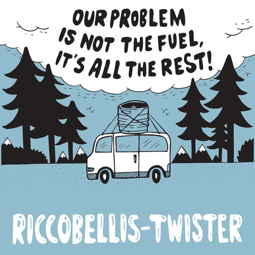 "Riccobellis/Twister- Split 7"" ~BLUE COVERS LTD TO 50!"