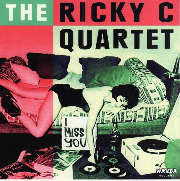 "Ricky C Quartet- I Miss You 7"" - Wanda - Dead Beat Records"