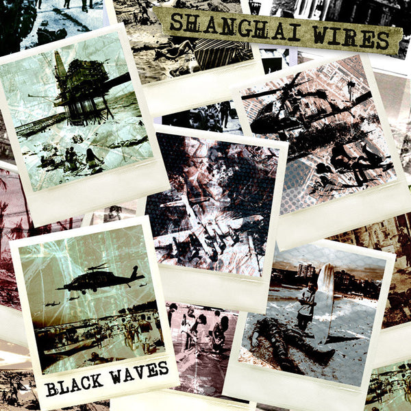 Shanghai Wires- Black Waves LP ~EX GAGGERS! - Pure Punk - Dead Beat Records