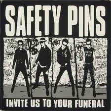 Safety Pins- Invite Us To Your Funeral LP ~GG ALLIN! - Dead Beat - Dead Beat Records