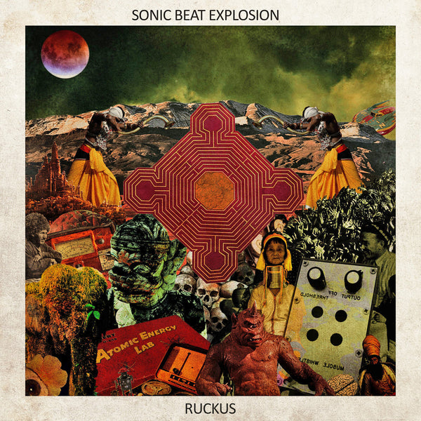 Sonic Beat Explosion- Ruckus LP ~HELLACOPTERS!