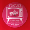 Statues - New People Make Us Nervous LP ~RARE RED WAX! - Ptrash - Dead Beat Records - 2