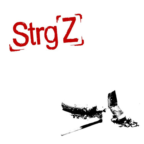 Strg Z- S/T LP ~THE RUTS / WITH EMBOSSED COVER!