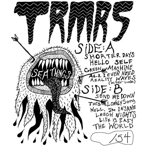 TRMRS- Sea Things LP ~ SPECIAL EDITION LTD TO 54! - Dead Beat - Dead Beat Records