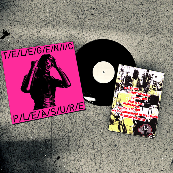 Telegenic Pleasure- S/T LP ~EX GAGGERS / RARE BONDAGE COVER LTD TO 30!