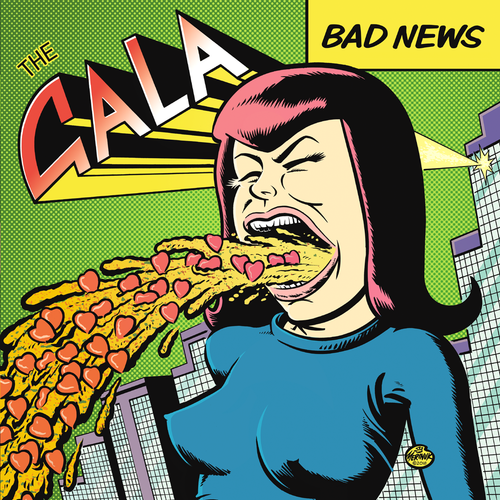 The Gala- Bad News LP ~DETROIT COBRAS!