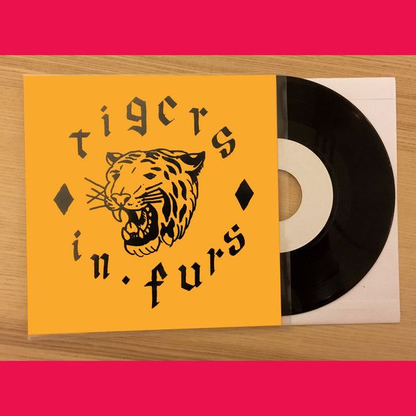 "Tigers In Furs- S/T 7"" ~RARE 184 NUMBERED COPIES PRESSED / HEARTBREAKERS!"