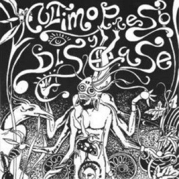 "Ultimo Preso/Disease- Split 7"" - Trubac - Dead Beat Records"