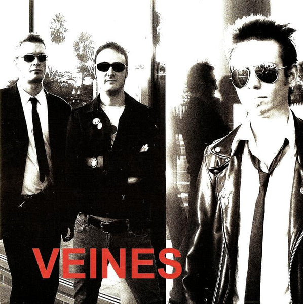 "VEINES- S/T 7"" - Frantic City - Dead Beat Records"
