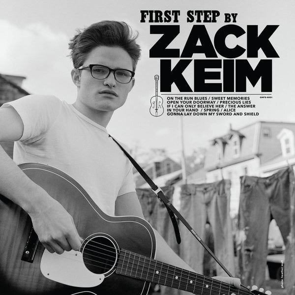 Zack Keim- First Step LP ~EX NOX BOYS!
