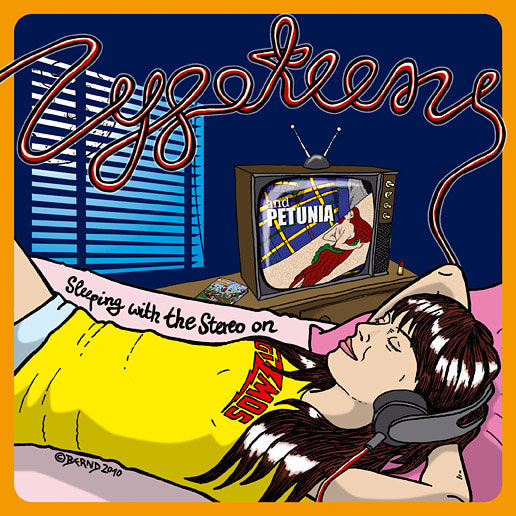 "Zygoteens- Sleeping With the Stereo On 7"" ~EXPLODING HEARTS!"