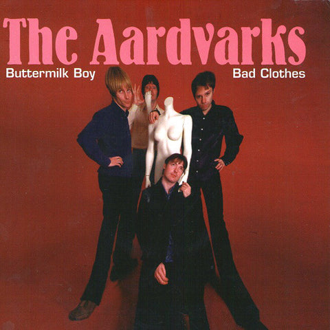 "Aardvarks- Buttermilk Boy 7"" ~THE CLIQUE! - Detour - Dead Beat Records"