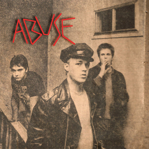 "Abuse- S/T 7"" ~REISSUE + RARE GOLD WAX!"