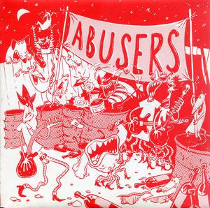 "Abusers- She's Easy 7"" - Demolition Derby - Dead Beat Records"