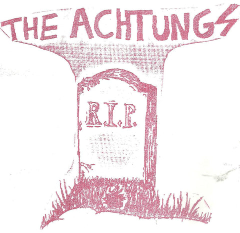 "Achtungs- Full Of Hate 7"" ~REATARDS! - Floridas Dying - Dead Beat Records"