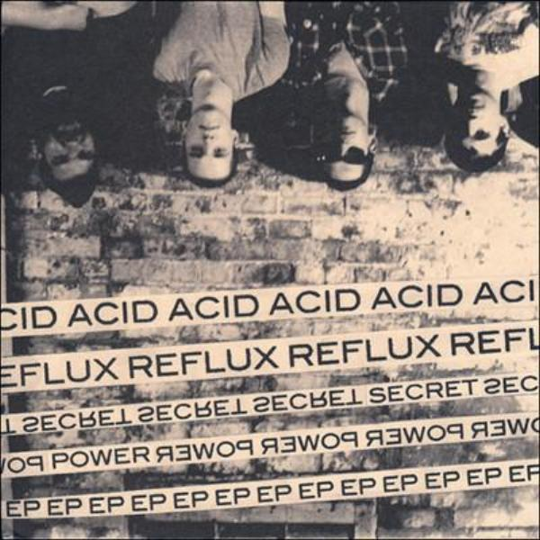 "Acid Reflux- Secret Power 7"" - No Way - Dead Beat Records"