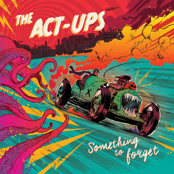 "Act-Ups- Something To Forget LP + BONUS 7"" ~PUSSY GALORE!"