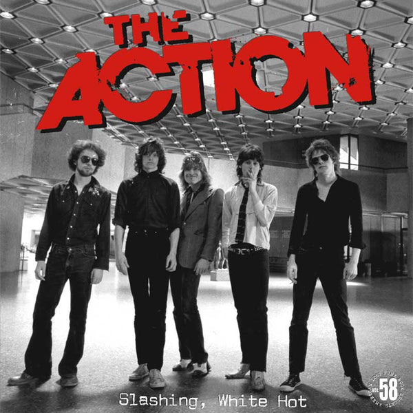THE ACTION - Slashing, White Hot LP  ~REISSUE - Rave Up - Dead Beat Records