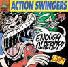 ACTION SWINGERS- Enough Already LP - Rockin Bones - Dead Beat Records