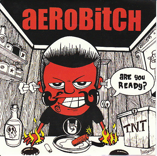 "Aerobitch- Are You Ready? 7"" ~CANDY SNATCHERS! - Intensive Scare - Dead Beat Records"