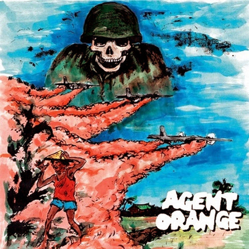 Agent Orange- Demos & More LP ~BLUE WAX LTD TO 250! - Gummopunx - Dead Beat Records