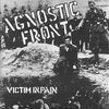 "Agnostic Front- Victim In Pain LP ~W/ UNITED BLOOD 7"" - Redrum - Dead Beat Records"