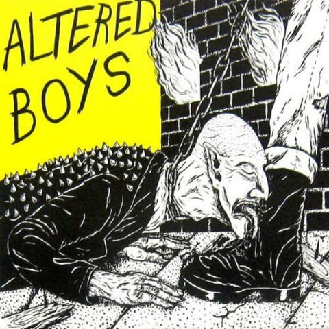 "Altered Boys- Left Behind 7"" ~KILLER! - Mad At The World - Dead Beat Records"