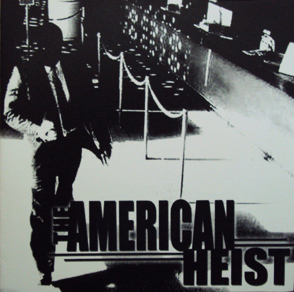 American Heist- S/T LP ~ LTD TO 500 COPIES! - Cutthroat - Dead Beat Records
