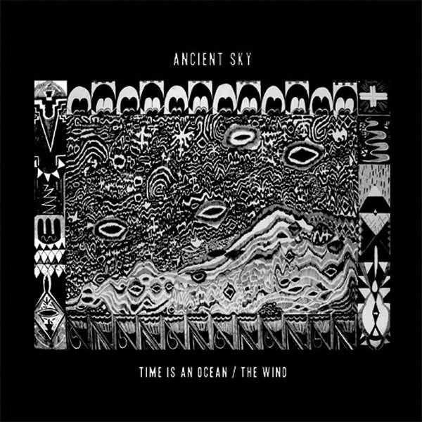 "Ancient Sky - Time Is An Ocean 7"" ~RARE BLUE WAX / EX WOODS!"