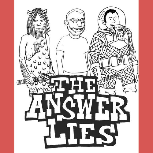 Answer Lies - Partial Discography CS ~RARE LTD TO 50 COPIES / REISSUE!