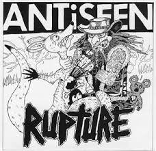 "Antiseen/Rupture- Split 7"" ~VERY RARE!! - Snap Shot - Dead Beat Records"