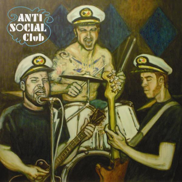 Antisocial Club- S/T LP  ~250 COPIES PRESSED! - Handsome Dan - Dead Beat Records