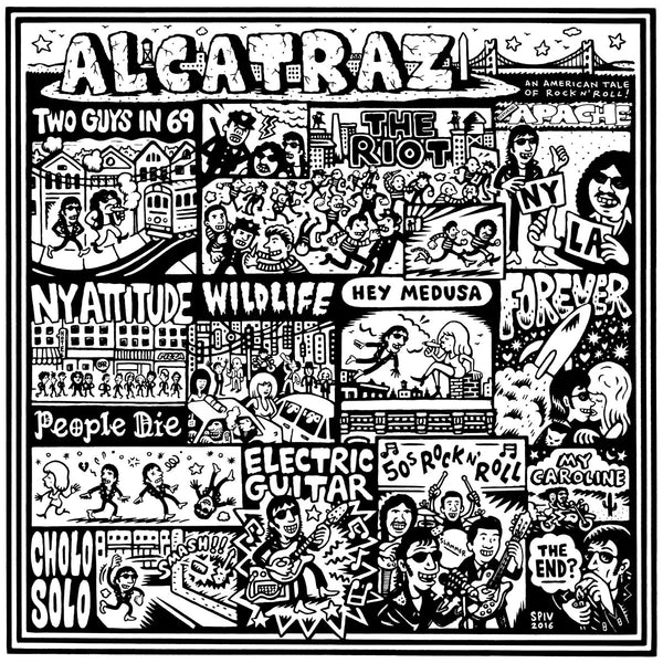 Apache- Alcatraz: An American Tale Of Rock N' Roll LP