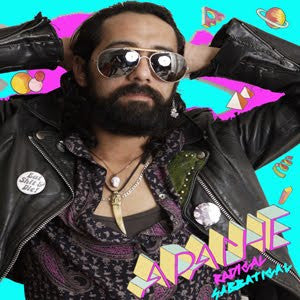 Apache- Radical Sabbatical LP - Burger - Dead Beat Records