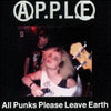 A.P.P.L.E.- All Punks Please Leave Earth CD - Broken - Dead Beat Records