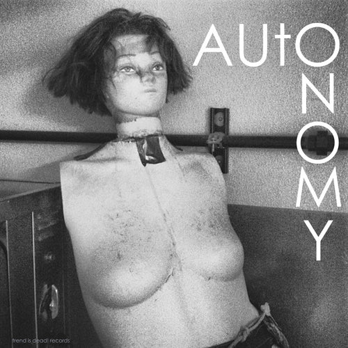 Autonomy/Doom Town- Split LP ~THE MOB! - Trend Is Dead - Dead Beat Records