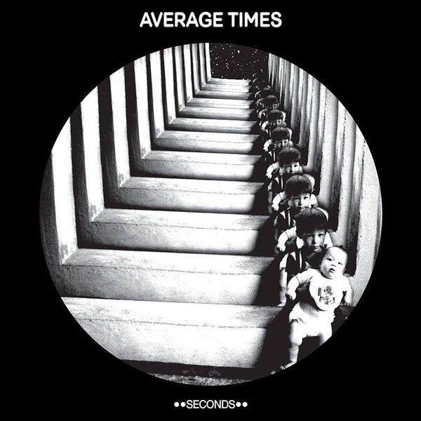 Average Times- Seconds LP ~VERY RARE COVER LTD TO 30 / MARKED MEN!