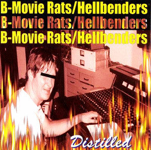 B-Movie Rats/Hellbenders- Split LP - Dead Beat - Dead Beat Records