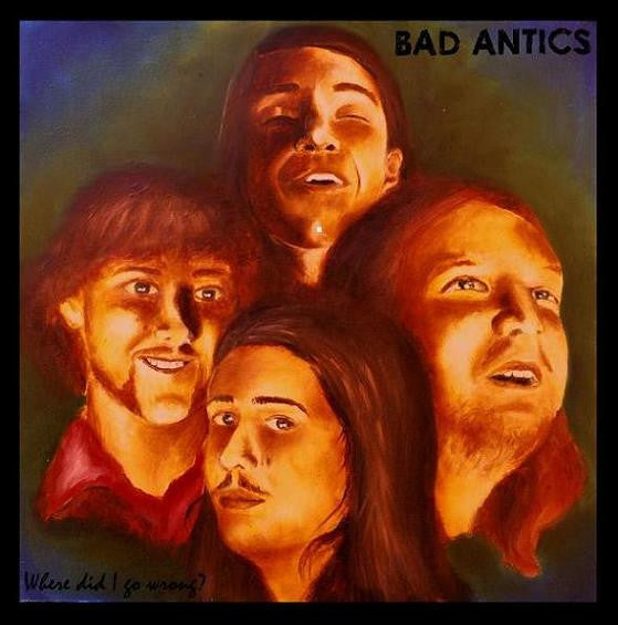 Bad Antics- Where Did I Go Wrong LP ~RECCOMENDED! - Skrammel - Dead Beat Records