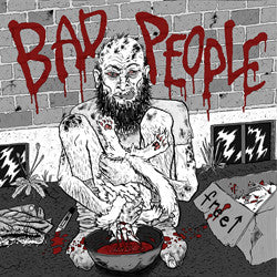 "Bad People– Pearls Before Swine 7"" ~EX BROWN SUGAR! - Feeble Minds - Dead Beat Records"