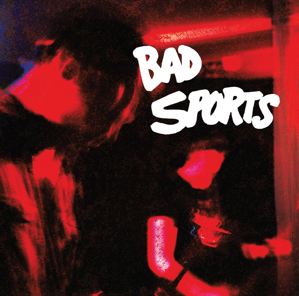 "Bad Sports- Red Overlay 7"" ~EX WAX MUSEUMS! - Total BS - Dead Beat Records"