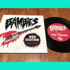 "Bambies- Red Guitar 7"" ~REAL KIDS!"