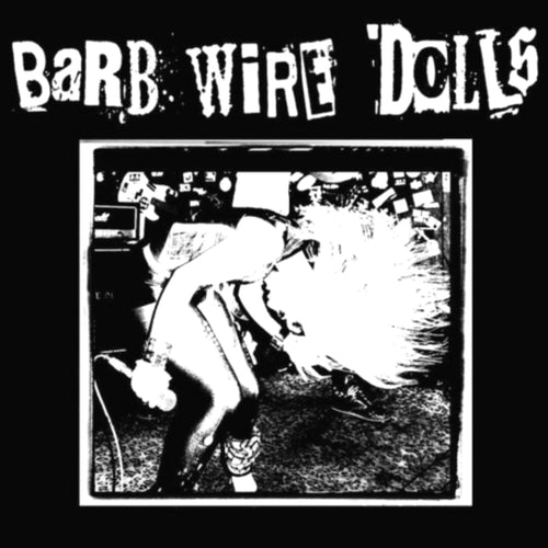 "Barb Wire Dolls- Devil's Full Moon 7"" ~LTD TO 150 ON CREAM WHITE WAX / GHOST HIGHWAY!"